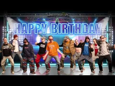 Happy Birthday Greeting - The Dance Party