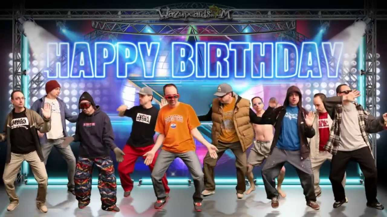 Happy Birthday Greeting The Dance Party Youtube