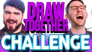 DRAW TOGETHER CHALLENGE | Matthias & Rob Dyke