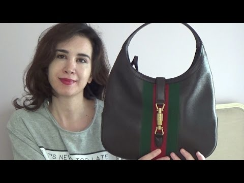 d11e3f26379911 GUCCI JACKIE BAG review/ what's in my bag - YouTube