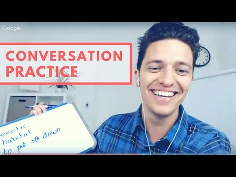 LIVE Lesson - Conversation Practice