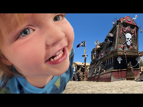 PiRATE SHiP for the KiDS!!! it is Finally Here! the ultimate island makeover and family surprise ☠️