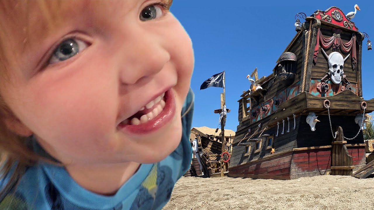 BiG SURPRISE for the KiDS!!!!  it is Finally Here!  the ultimate pirate island family project ☠