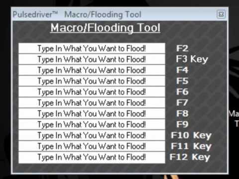 macro flooding habbo