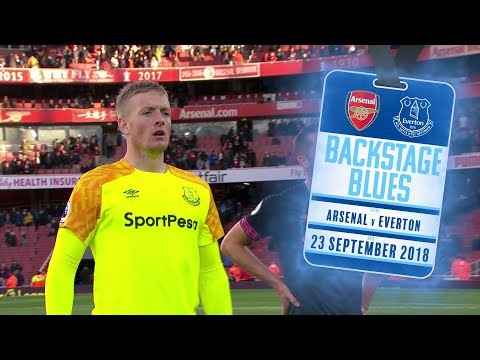 BACKSTAGE BLUES: ARSENAL V EVERTON | TUNNEL CAM, ARRIVALS, WARM-UPS + MORE AT THE EMIRATES