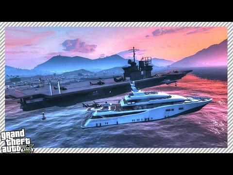 TREVOR'S CRAZY MILITARY AIRCRAFT CARRIER SHIP