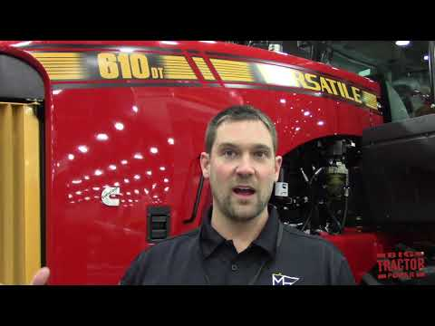 Big Tractor Power Visits With The Mn Millennial Farmer