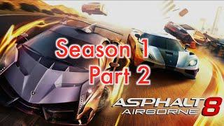 Asphalt 8: Airborne (Walkthrough - Gameplay) Part 2 - Season 1 (Ferrari 308 GTS Race)