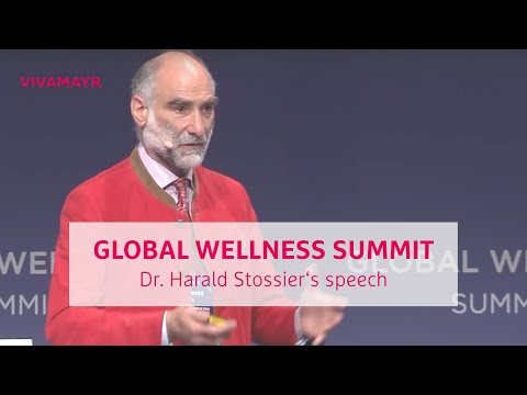 Dr  Harald Stossier´s presentation at the Global Wellness Summit 2016