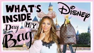 Whats In My DISNEY Bag  How to Pack Your bag for DISNEY