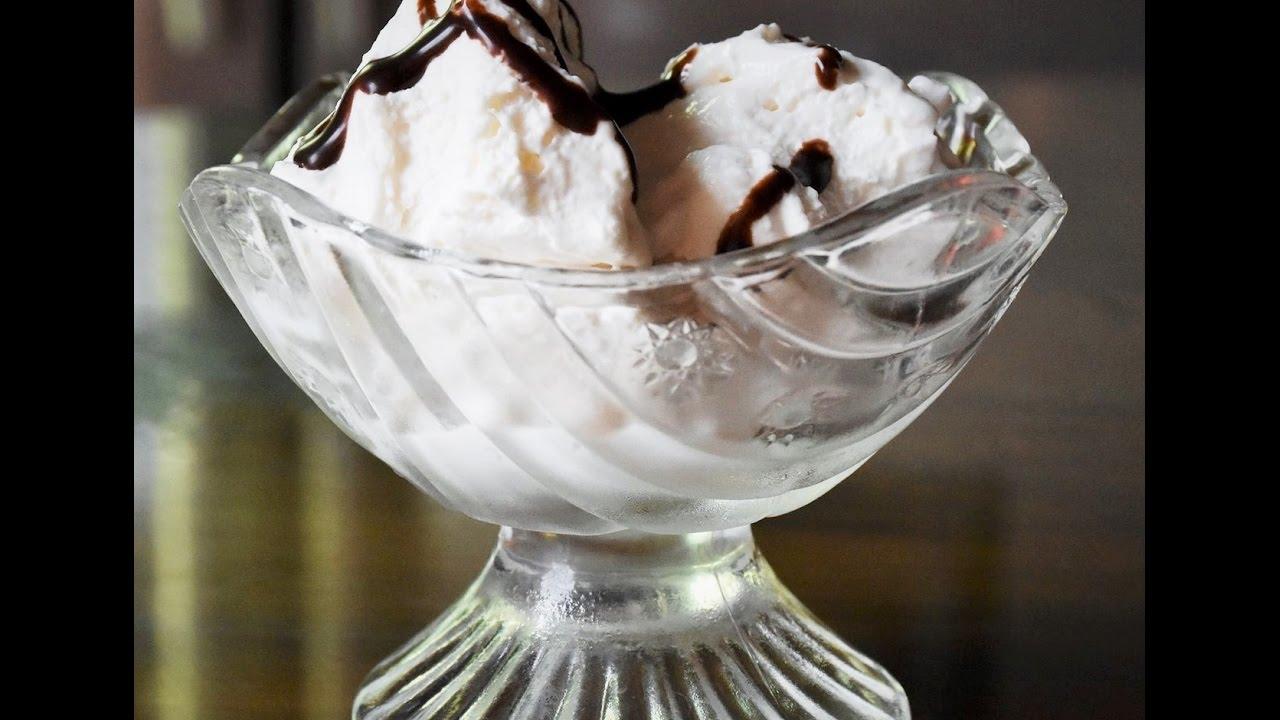 how to make easy vanilla ice cream
