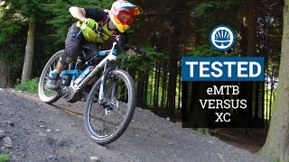 e-MTB Vs. XC - Which Is Faster?(Okay, so you can probably guess the answer, but if you've been wondering just how much of an advantage e-MTBs can give a mountain bike rider, then wonder ..., 2016-06-24T11:00:02.000Z)
