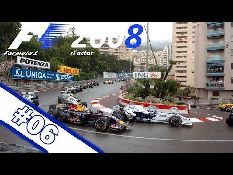 Großer Preis von Monaco 🎮 #06 | rFactor F1 2008 Saison