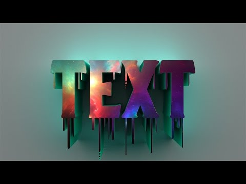 How to make 3D Text in Photoshop