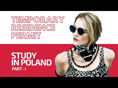 HOW TO APPLY FOR TEMPORARY RESIDENCE PERMIT  II  STUDY IN POLAND