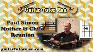 Mother And Child Reunion - Paul Simon - Acoustic Guitar Lesson