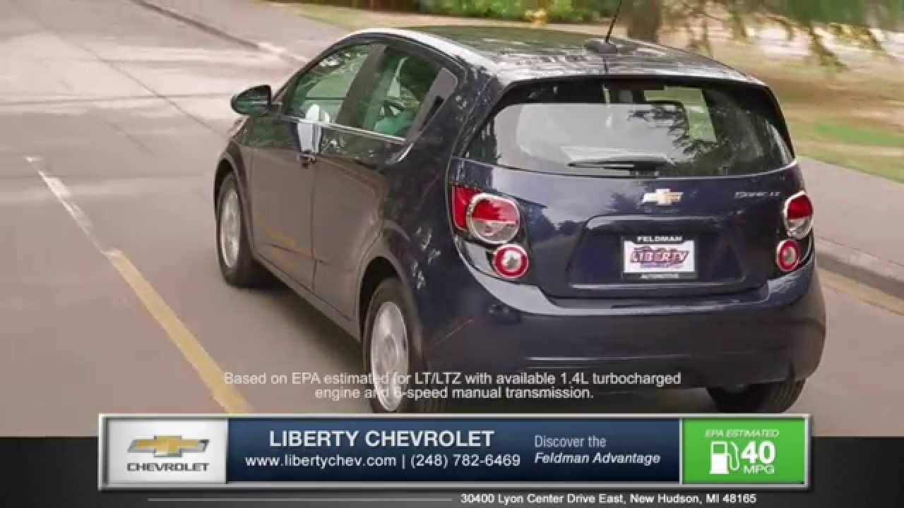 2015 Chevy Sonic Is Cooler Than The Ford Focus   New Hudson Michigan