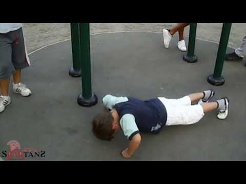 Street Workout - Kids Workout (6 years old)