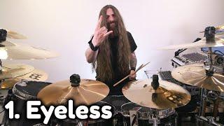 Top 10 Joey Jordison drum beats