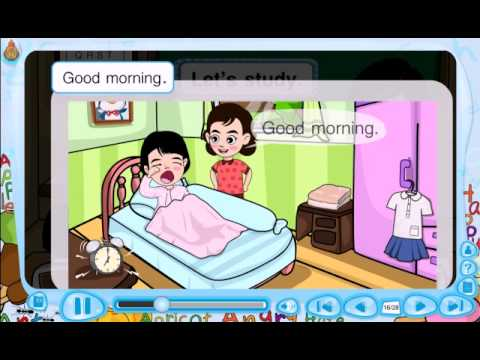 สื่อการเรียนรู้แท็บเล็ต ป.2 วิชา ภาษาอังกฤษ เรื่อง Goodmorning