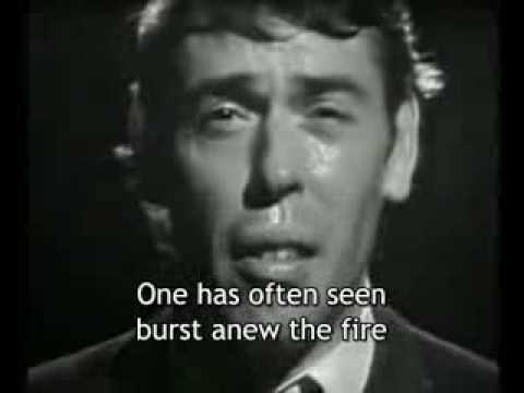 Ne me quitte pas (Jacques Brel) - [English subtitles]