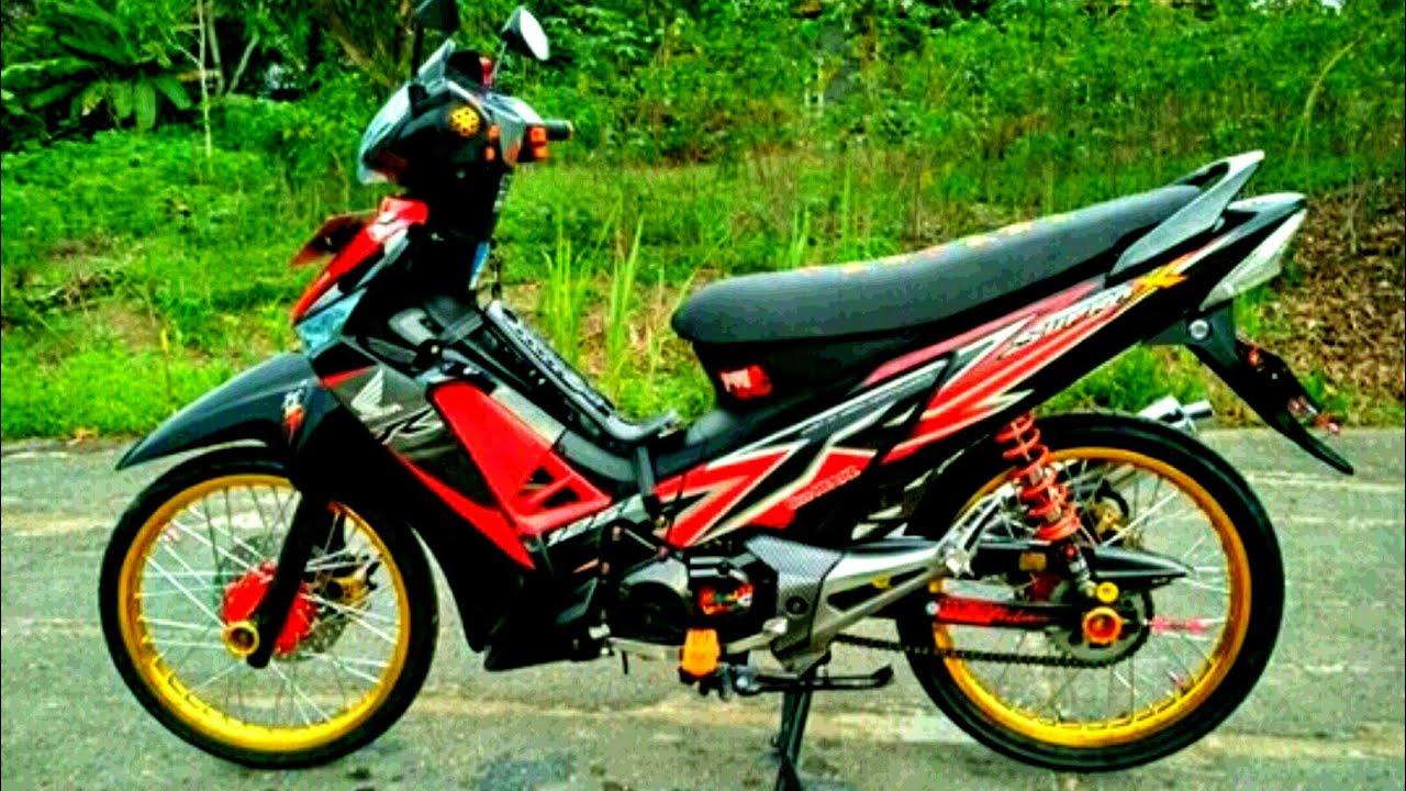 Modifikasi Honda Supra X 125 Standar