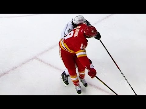 Drew Doughty checked in with the most NSFW goal celebration of all time against the Calgary Flames