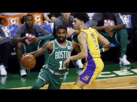 Kyrie Irving CARVES UP Lonzo Ball & Lakers with Some NASTY Handles