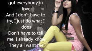 Becky G Problem ( The Monster Remix) Ft Will I Am With Lyrics New Song 2012