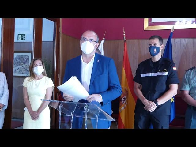 Presentan en Santa Cruz de la Palma la campaña de Verano contra incendios de Canarias.