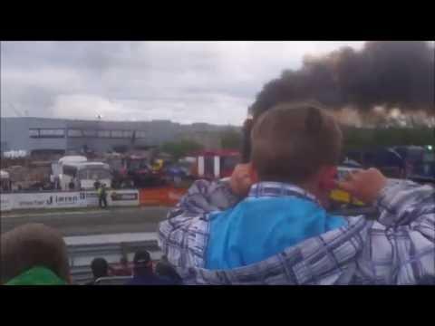 Traktorpulling Bryne 2016