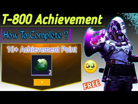 Download How to Complete T-800 Achievement In PUBG Mobile & Get Free 3 Classic Coupon Scrap In Pubgm