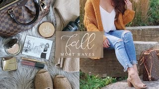 Fall Must Haves 🍁 Beauty & Fashion 🍂 Charmaine Dulak