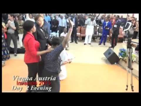 #Apostle Johnson Suleman(Prof) #Prophetic Moment #2of2 #Vienna, Austria Invasion 2015
