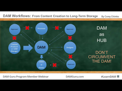 Digital Asset Management Workflows: From Content Creation to Long-Term Storage