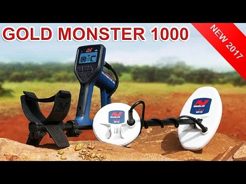 Minlab Gold Monster 1000 | the Best Gold Nuggets Detector 2017