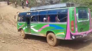 BUSES STUCK IN MUD COMPILATION
