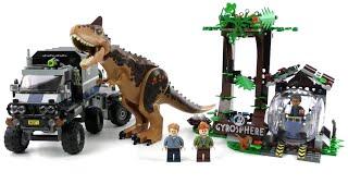 LEGO Jurassic World Set 75929 Carnotaurus - Flucht in der Gyrosphere / Review deutsch