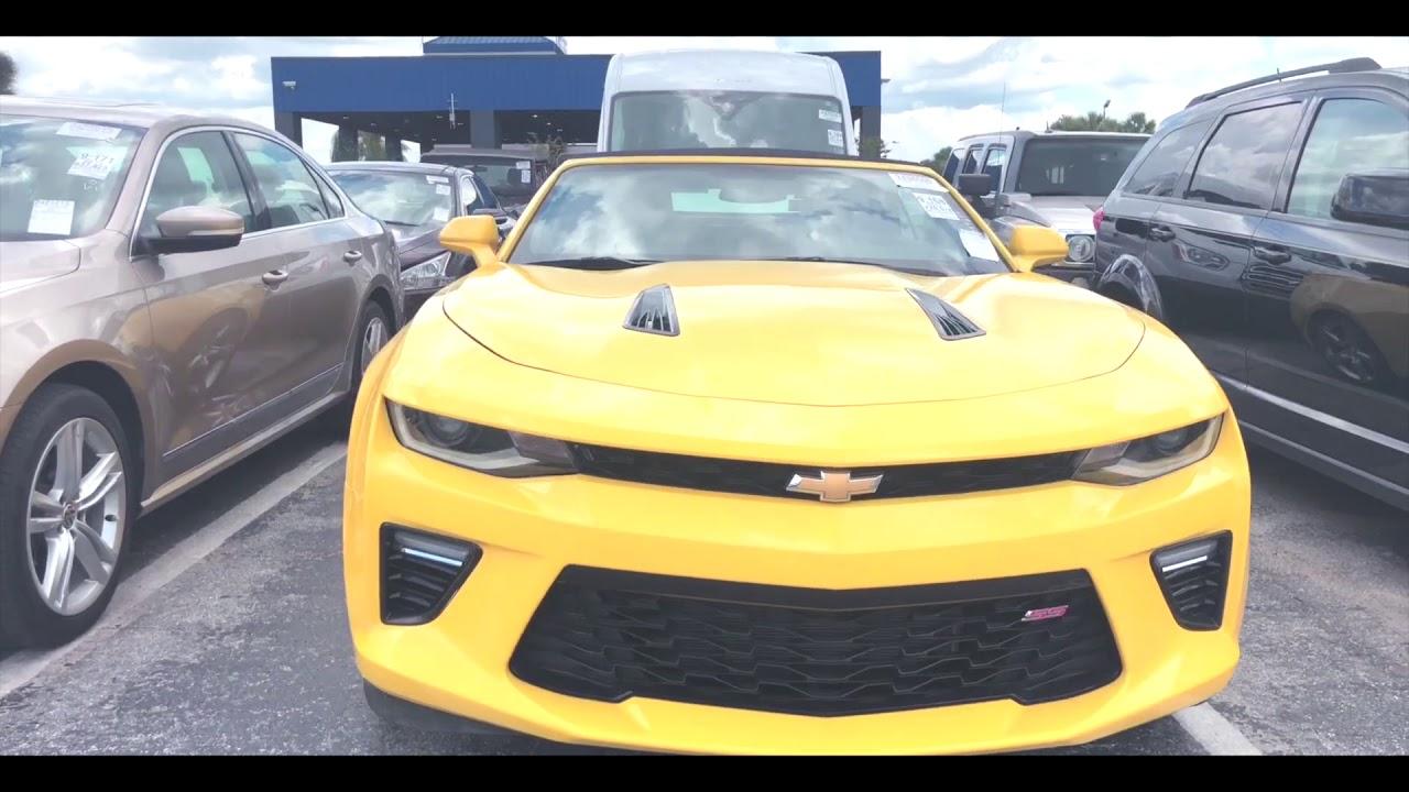 2015 Chevrolet Camaro. Утопленник. 7motors — авто и .