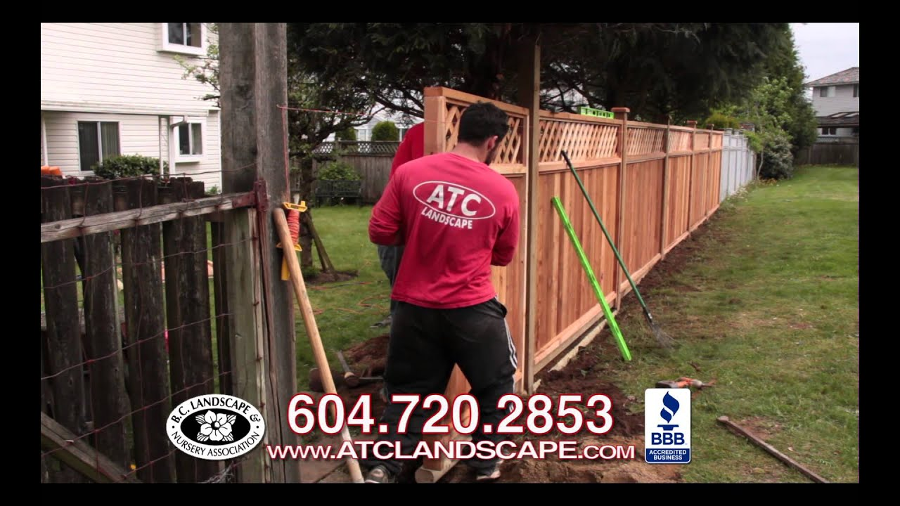 Cedar Fencing Vancouver Cedar Fence Panels