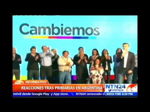 """Daniel Scioli toma triunfo en elecciones primarias en Argentina """"con mucha humildad"""""""