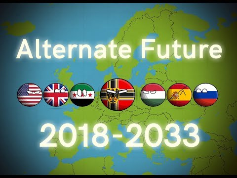 Alternate Future Of Europe In Countryballs (2018-2033)