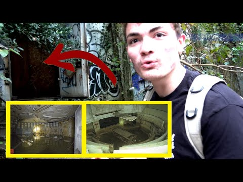 Discovering A Hidden Nuclear Bomb Shelter In Our Neighborhood!