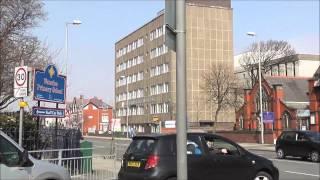 Views of Crosby Road North, Crosby, Liverpool, England