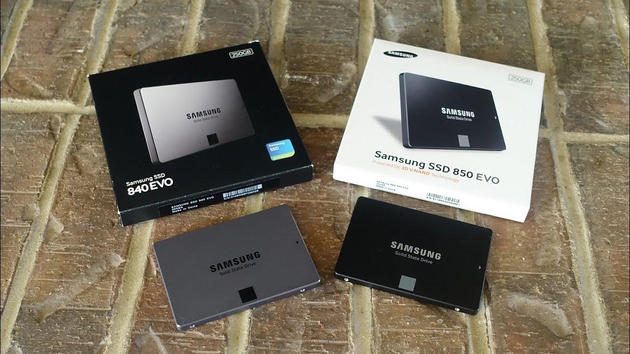Samsung 850 Evo Vs 840 Evo Is It Worth The Upgrade Youtube