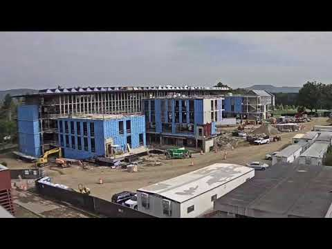 Amherst College: Science Center Construction Time Lapse