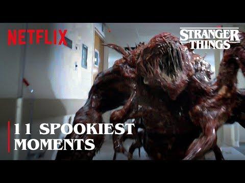 The 11 Spookiest Monster Moments   Stranger Things   Netflix