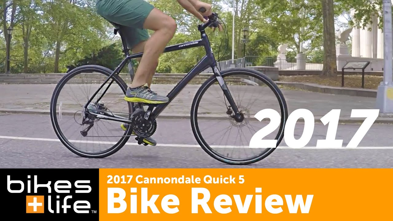 416877a82c5 First look: 2017 Cannondale Quick 5 Bike Video Review - YouTube
