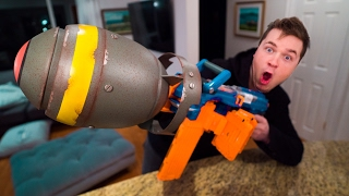 "THE NERF NUKE! ""Most Dangerous NERF Ever"" (EXPERIMENT)"