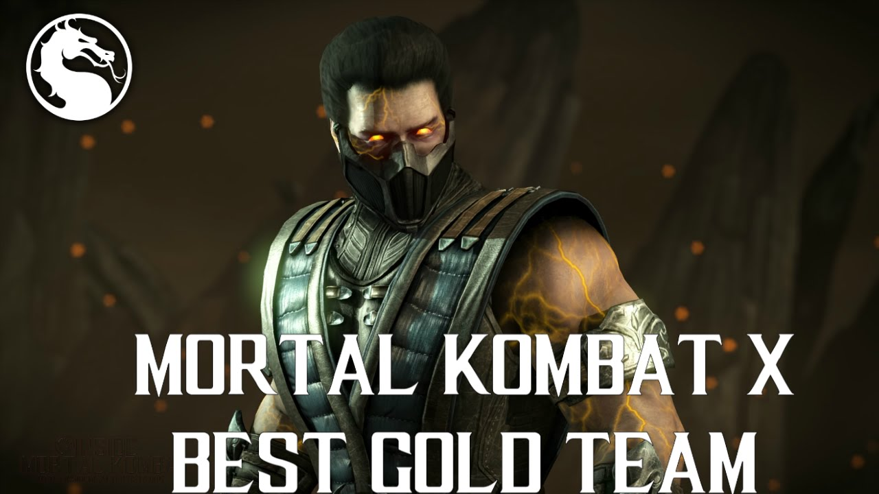 Best Gold Team on Mortal Kombat X Mobile Android / IOS - MKX MOBILE GOLD  Team